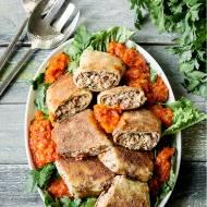 Krokiety z kurczakiem, mozzarella i suszonymi pomidorami