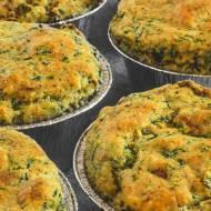Wytrawne muffiny szpinakowe