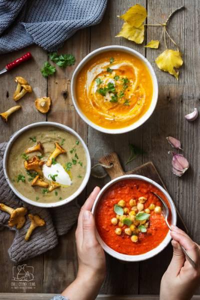 3 proste zupy krem, które rozgrzeją Cię jesienią
