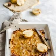 Tarta dyniowo-morelowa z gruszkami