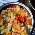 Leczo z pulpecikami i makaronem ryżowym