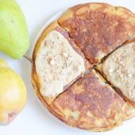 Daktylowy omlet z gruszką :)