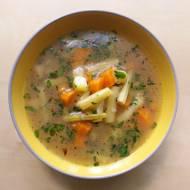 Zupa jarzynowa z fasolką szparagową