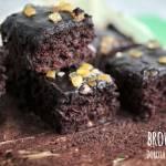 Brownie z batatów - wegańskie, bezglutenowe, bez tłuszczu