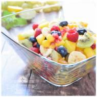 Sałatka owocowa z miodem
