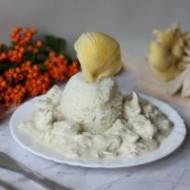 Potrawka z kurczaka w sosie musztardowo-estragonowym