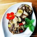 Salceson ze świeżych grzybów leśnych