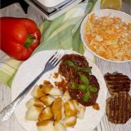 Grillowane kotlety mielone z pieczarkami – prosty przepis na obiad
