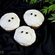 Halloween Babeczki Mumie