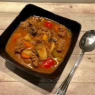 Rozgrzewająca zupa a'la strogonow