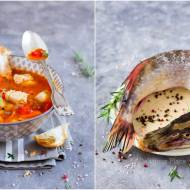 Zupa rybna z pomidorami i papryką / Fish soup with tomatoes and peppers