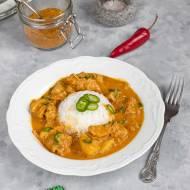Curry z kurczaka po jamajsku