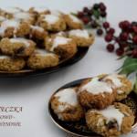 Jesienne dyniowe ciasteczka, żurawinowo-owsiane
