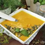 Zupa krem z dyni na mleczku kokosowym