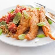 Chrust z łososia. Nowy przepis na rybę