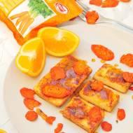 Tofu w Słodkim Sosie Pomarańczowym