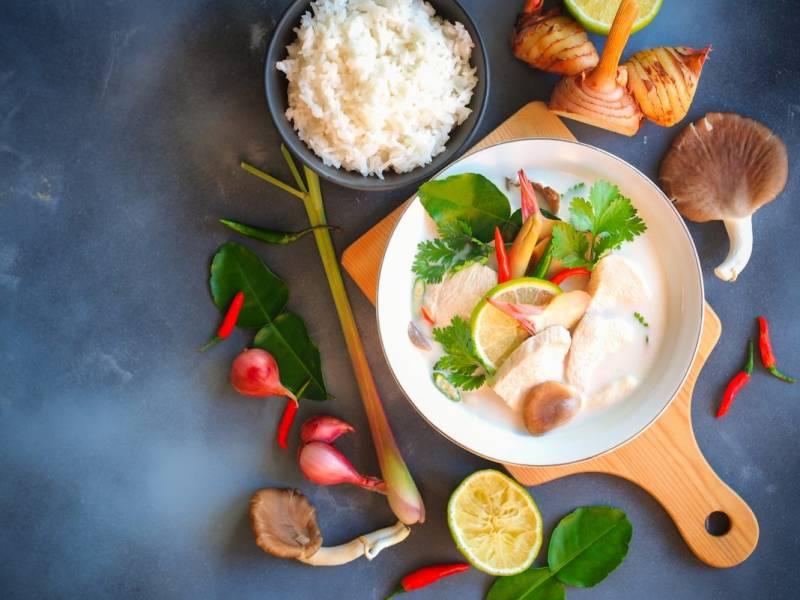 Przepis Na Kolorowa I Wyrazista Kuchnia Tajska Co Warto O
