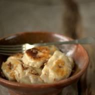 Pierogi z serem i kiełbasą