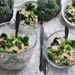 Sałatka z makaronem i brokułami