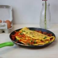 Omlet jajeczny z papryką