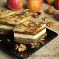 Placek orzechowo-serowo-jabłkowy – kuchnia podkarpacka