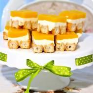 Cukiniowo cytrynowe ciasto bez pieczenia