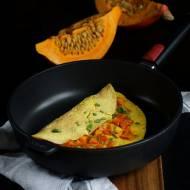 Jesienny omlet z dynią.