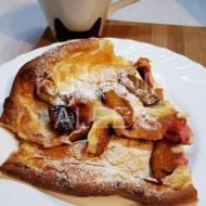 Pieczony omlet ze śliwkami wg Aleex
