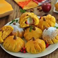 Dyniaczki z serem i jabłkiem