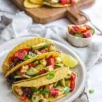 Tacos z serem i wytrawną konfiturą