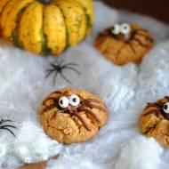 Ciasteczka – pajączki z masłem orzechowym