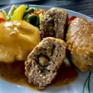 Faszerowane rolady z mięsa mielonego