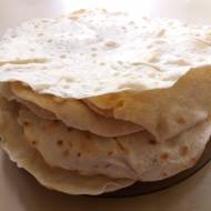 Domowa pszenna tortilla
