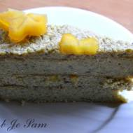 Jaglany Tort Rafaelo bez glutenu i cukru fit
