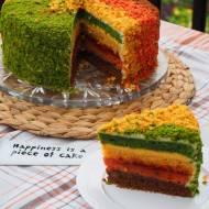 Tort w kolorach jesieni