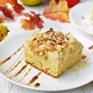 Ciasto waniliowe z gruszką