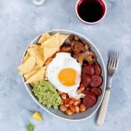 Meksykańska miska śniadaniowa