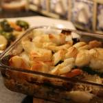 Zapiekanka ziemniaczana z mięsem i warzywami