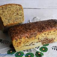 Chleb pszenny razowy z lnem