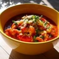 Rozgrzewająca zupa meksykańska z mięsem mielonym