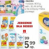 Zupki kaszki i mleko dla dzieci- przegląd promocji w gazetkach