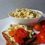 Pasta kanapkowa ze śledzia i jajka