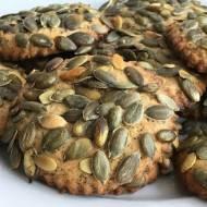 Ciasteczka z pestkami dyni