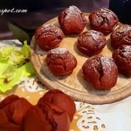 Muffinki czekoladowo - wiśniowe z nutą rumu / Muffins chocolate and cherry with a hint of rum
