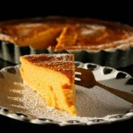 Tarta na słodko z dyni, batata i mascarpone