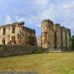 Bodzentyn - ruiny zamku królewskiego