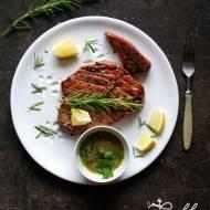 Stek z tuńczyka grillowany