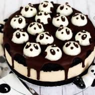 Tort w pandki na urodziny bloga (bez glutenu, cukru białego, laktozy, wegański)