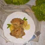 Kurczak w miodowo-musztardowym sosie