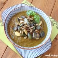 Zupa - krem z cukinii i zielonej soczewicy